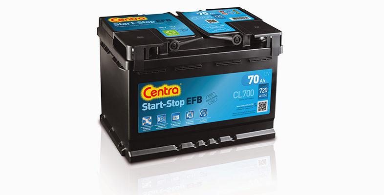 Akumulatory Centra Start-Stop EFB