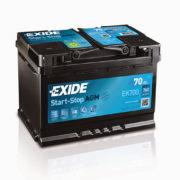 Akumulator Exide Start Stop AGM