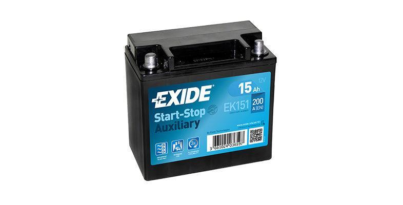 Akumulatory Exide Start-Stop Auxiliary