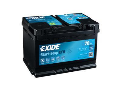 Akumulatory Exide Start Stop EFB