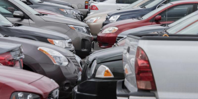 Plac skupu samochodów